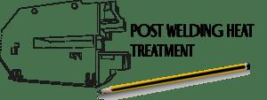 trattamento termico di distensione o post welding heat treatment